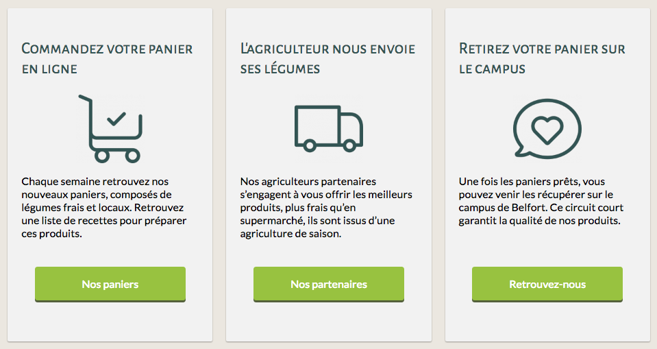 Call-to-action pour Éco-Campus