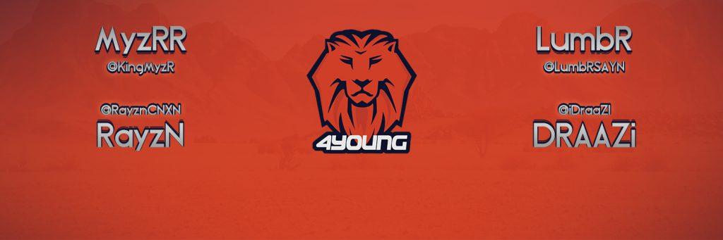 Image de couverture du compte Twitter de l'équipe 4Young