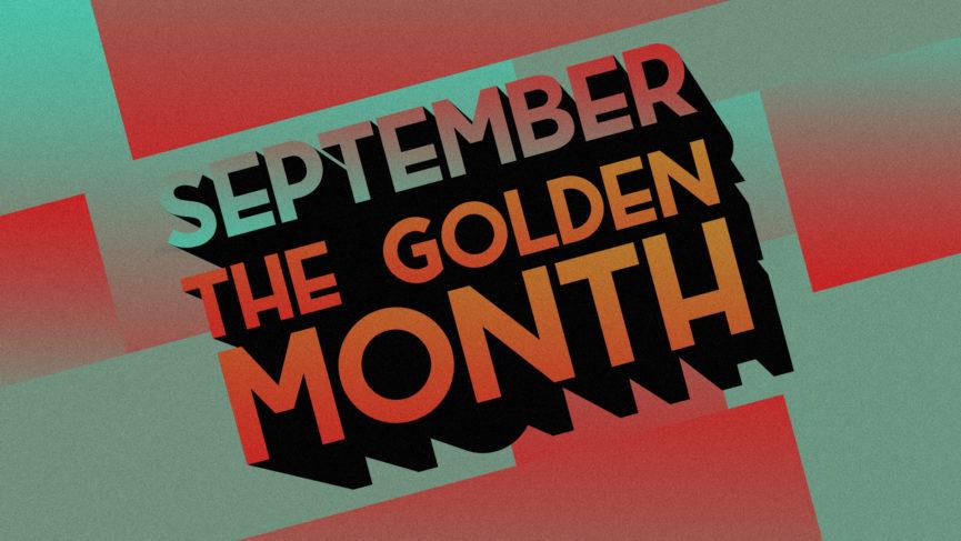 Illustration September the golden month