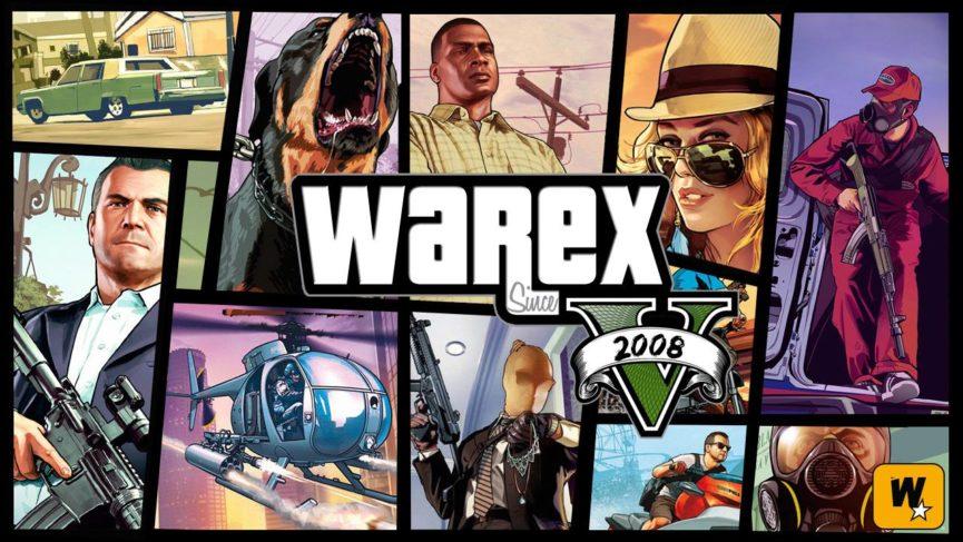 Fond d'écran style Grand Theft Auto 5