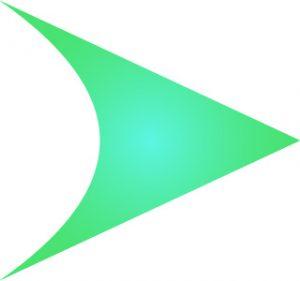 Première phase de dessin du logo Qwartz