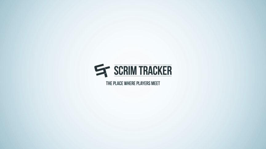 Arrière-plan pour le projet Scrim Tracker