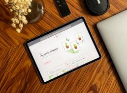 Aperçu de la boutique de Élodie Roosz sur tablette