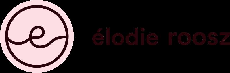 Version horizontale du logo de Élodie Roosz