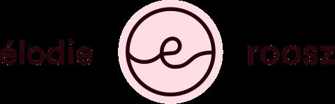 Nouveau logo d'Élodie Roosz