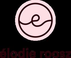 Version verticale du logo de Élodie Roosz